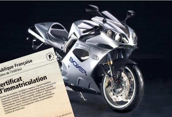 Carte grise moto : quelles sont les règles de calcul ? - RDM