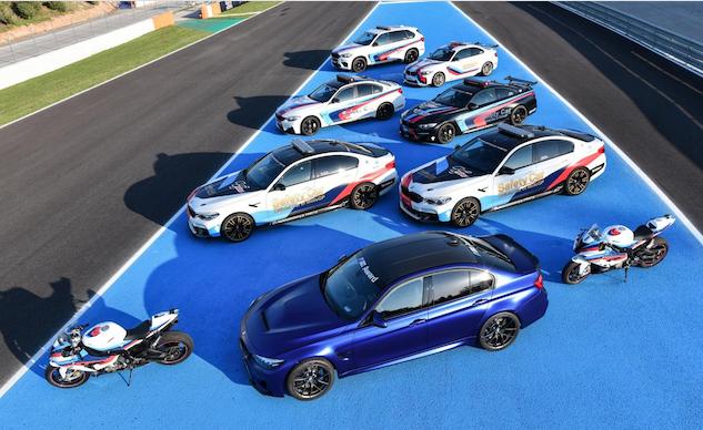 BMW célèbre 20 ans de safety cars en MotoGP