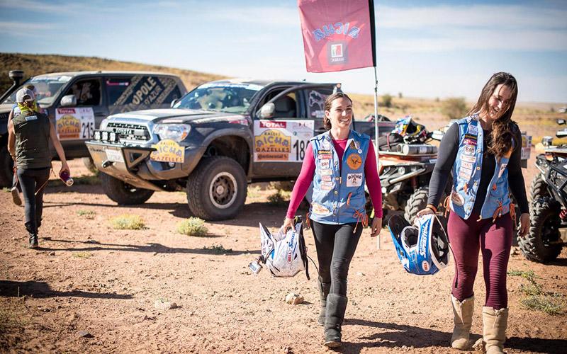 Le Rallye Aicha des Gazelles