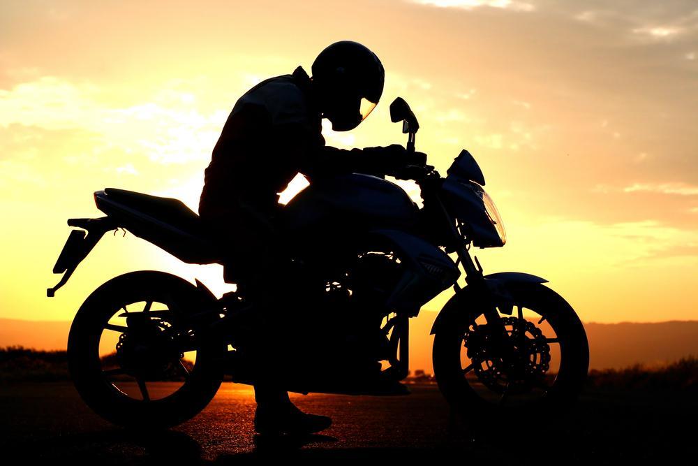 La première blessure en moto